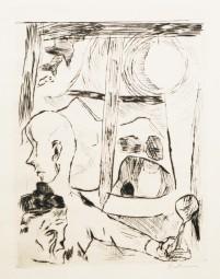 Max Beckmann, Die Fürstin, 1917