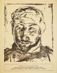 Max Beckmann, Originale Lithografie Martin Tube 1914