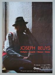 Joseph Beuys, seltenes Plakat 1995