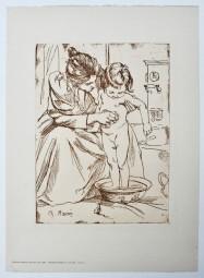 Charles Maurin, Mutter mit Kind