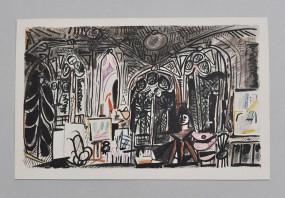 Pablo Picasso, Farblithografie