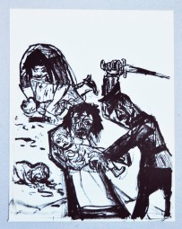 Otto Dix, Litho. Der Kindermord zu Bethlehem
