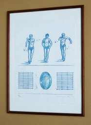 Max Ernst, Lithografie, All the boys Nr. 1 zu: Lewis Carrolls Wunderhorn