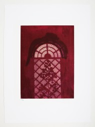 Max Ernst, Farblithografie, Judith, 1971