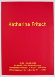 Katharina Fritsch, Plakat Parkhaus 2006