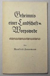 Manfred Hausmann, Geheimnis einer Landschaft 1940