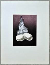 Man Ray, Radierung 1969