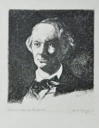 Edouard Manet, CHARLES BAUDELAIRE DE FACE