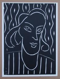 Henri Matisse, Linolschnitt Teeny 1938