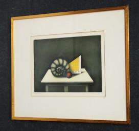 Friedrich Meckseper, Farbradierung