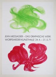 Jean Messagier, Plakat, 1971