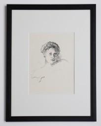 Max Beckmann, Minna Tube, Lithografie, 1911