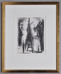 Picasso, Der Maler und sein Modell