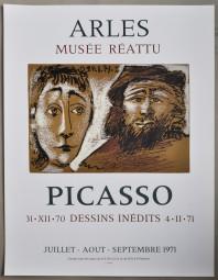 Picasso, Plakat, Musée Réattu, Arle