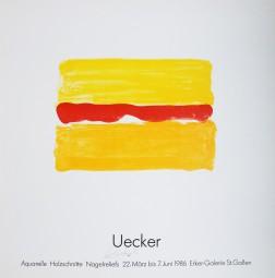 Günther Uecker, Wüstenhorizont