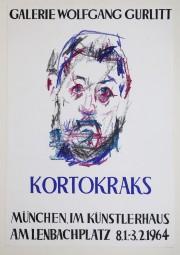 Rudolf Kortokrax, Plakat der Galerie Gurlitt