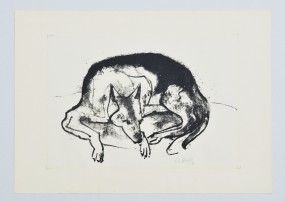 Karl Hofer, Schäferhund 1