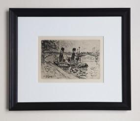 Paul Signac, Radierung, Paris 1927