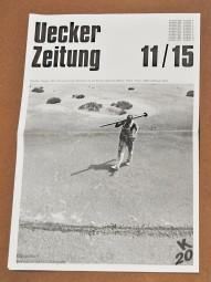 Günther Uecker Zeitung 11/15
