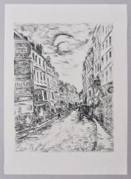 Maurice de Vlaminck, Rue de Glacier, 1937