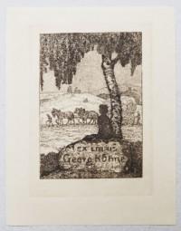 Heinrich Vogeler Ex Libris Georg Kühne