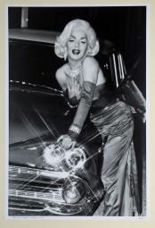 Walter Vogel, original Foto, Olaf als Marilyn, 1991