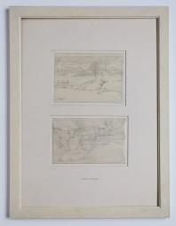 Heinrich Vogeler, Zwei originale Kriegszeichnungen um 1916