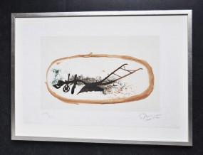 Georges Braque, La charrue, originale Lithografie, 1960