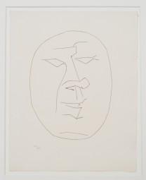 Pablo Picasso, Kaltnadelradierung 1949, 320 Expl.