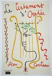 Jean Cocteau, Originalplakat, Le Testament d'Orphée