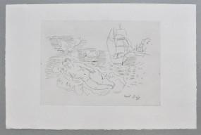 Raoul Dufy, Petite Baigneuse aux Papillons