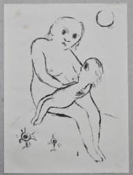 Bernhard Hoetger, Mutter und Kind, 1922