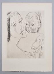 Heinrich Nauen, Mutter mit Kind