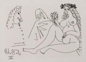 Pablo Picasso, La Célestine