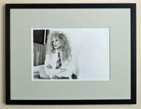 Christopher Makos, Andy Warhol, Gelatine Silver Print 1981